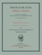Nicolai de Cusa Opera Omnia. Volumen XVI 1. [GER]