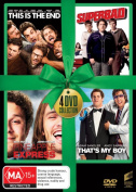 This is the End / Superbad / Pineapple Express / That's My Boy  [Region 4]