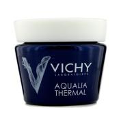 Aqualia Thermal Night Spa Replenishing Anti-Fatigue Cream-Gel (For Sensitive Skin), 75ml/2.54oz
