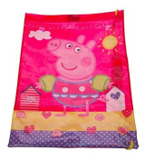 Official Peppa Pig Seaside Girls Trainer Drawstring PE Swimming Shoulder School Bag Back To School