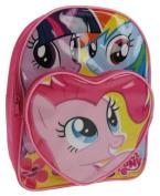 Official My Little Pony Girls Heart Backpack Rucksack Shoulder School Bag Back To School