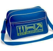 Gamer Shoulder School Bag Eat Sleep Mine