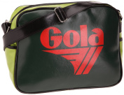 Gola Redford Bag in Red Green Lime and Black