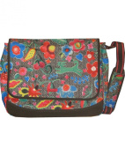 Oilily Men's Oilily-2202-9901-1 Top-Handle Bag grey Charcoal (Grau) 1