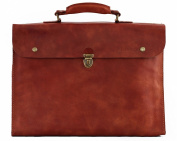 LE PLIABLE briefcase soft leather suitcase folding PAUL MARIUS