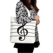 Feichen Womens Simple Shoulder Bags Canvas Bag