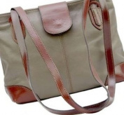 Primo Sacchi Italian Soft Leather, Unstructured Long Handled Hand Bag or Shoulder Bag. Includes a Protective Dust Bag.