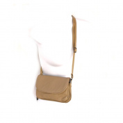 Small Speedy Soft Genuine Leather Flap Shoulder Silver Fever® Handbag