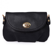 HDE Fashion Leather Satchel Clutch with Drop-In Leather Shoulder Strap