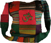 HIPPIE BAG - INDIAN STYLE with OM DESIGN