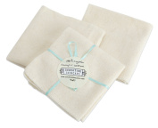 100% Natural pure soft organic cotton wash cloth x 1