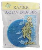Ramer Roman Bath Sponge - Blue