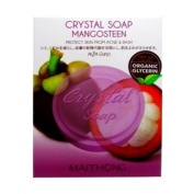 Maithong Crystal Soap Mangosteen Protect Skin from Acne and Rash, Organic Glycerin 70 g.