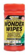 Everbuild Wonder Wipes Antibacterial Cleaning Wipes 100 Sheets