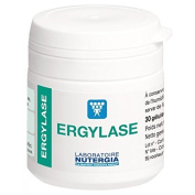 Nutergia Ergylase 30 Gel Capsules to Aid Digestion