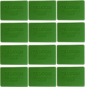 12 x Falcon Traditional Household Green Carbolic Soap 125g