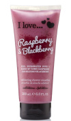 I Love... Raspberry & Blackberry Exfoliating Shower Smoothie 200ml
