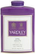 Yardley London April Violets Tin Talc