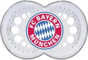 FC Bayern Munich Pacifier Silicon 6-16 Months One Pair