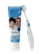 Brush-Baby Children's dental set BLUE