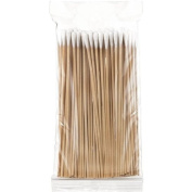 Salon System Wooden Cottons Buds - Pack of 100