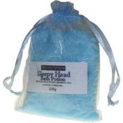 Sleepy Head Bath Potion - Lavender & Marjoram - 200gr