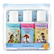 Childs Farm Top-to-toe cleaning kit for kids 3 x 100ml
