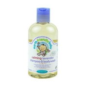 THREE PACKS of Earth Friendly Baby Org Lavender Shampoo 251ml