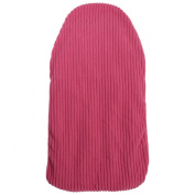 OCTAVE Pink Ribbed Fleece Cosy Microwaveable Heat Pack Bag Warmer