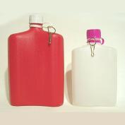 Sisval David Plastic Water Bottles Pack of 2 1 x 1 Litre + 1 x 0.5 Litre