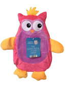 Pink Owl Hot Water Bottle & Cover