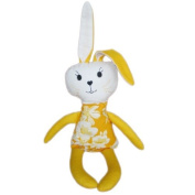 Soft Toy Hare | Baltic Amber Gift | | Handmade Doll with amber gemstone filling | Baby massage | Alternative Medicine | Crystal Therapy | Baby Warmth Sleeping Toy