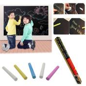 Adhesive Blackboard Vinyl Chalk Memo Board, Removable