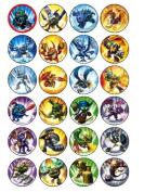 24 Skylanders Cupcake Toppers