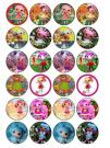 24 Lalaloopsy Cupcake Toppers