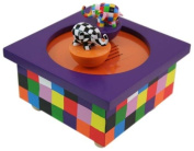 Trousselier Musical Wooden Box - Elmer The Elephant
