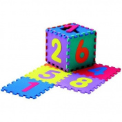 Large Soft Foam EVA Floor Mat Jigsaw Tiles Numbers Kids Babies Puzzle