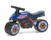Falk Xrider 401 Children's Pedal Motorcycle Blue