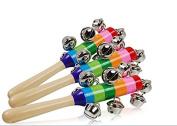 Musuntas Musical Bell Stick - Wooden Musical Instrument