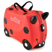 Trunki Ride-on Suitcase - Harley the Ladybug