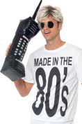 Smiffy's 80cm Inflatable Retro Mobile Phone
