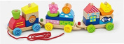 Viga Wooden Pull Along Stacking Train #50089