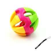 Estone Kid Gift Musical Instrument Baby Hand Shaker Bell Jingle Ring Rattle Ball Toy