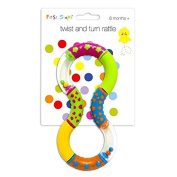 Fabulous twist and turn rattle by First Steps