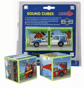 Micki Leksaker Sound Cubes Vehicles