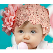 Ukamshop(TM)1PC Super Cute Rhinestone Unusual Angel Girls Baby Pearl Flowers Hairband Headbands For Baby