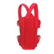 Zehui Adjustable Infant Baby Carrier Newborn Kid Sling Wrap Rider Backpack Red
