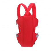Zehui Adjustable Infant Baby Carrier Newborn Kid Sling Wrap Rider Backpack Red