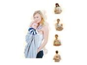 Baby/toddler sling carrier with padded shoulder adjustable straps