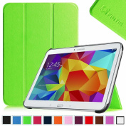 Fintie Samsung Galaxy Tab 4 10.1 (25cm ) Smart Shell Case - Ultra Slim Lightweight Stand Cover with Auto Sleep/Wake Feature (Will Not Fit Samsung Galaxy Tab 3 10.1), Green